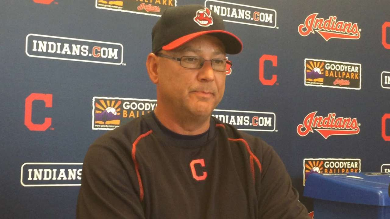 With Almonte out, Tribe OF full of questions