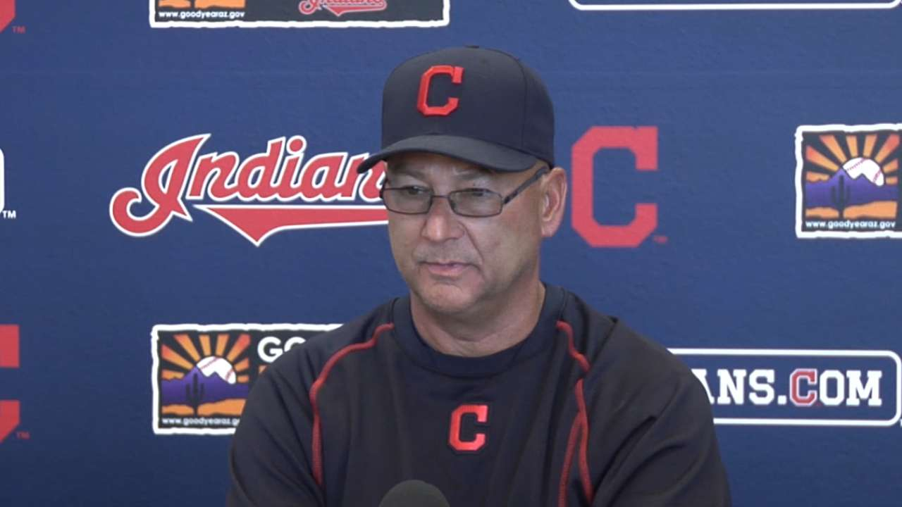 Francona on Tribe additions