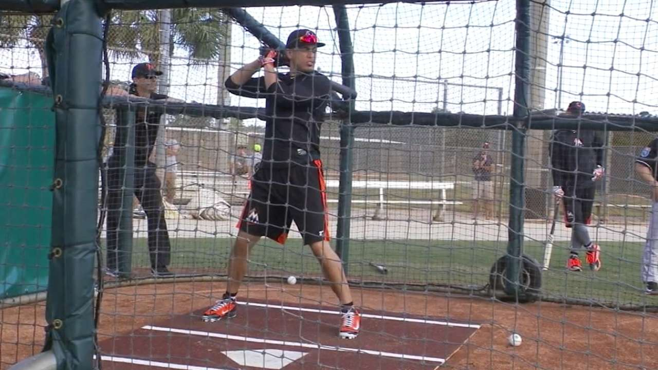 Stanton's pop excites Mattingly