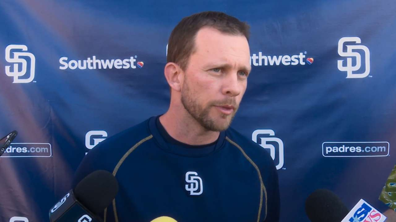 Green aims to change Padres' mindset