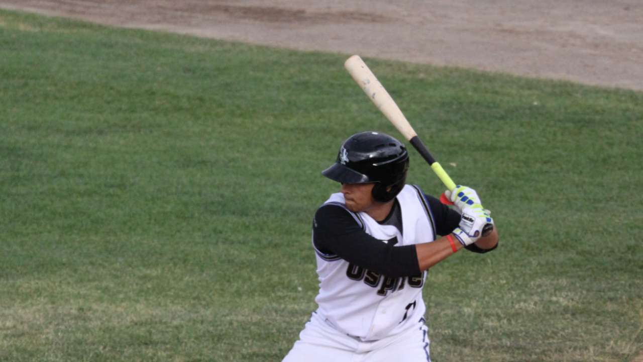 Diaz notches pair of hits in Fall League win