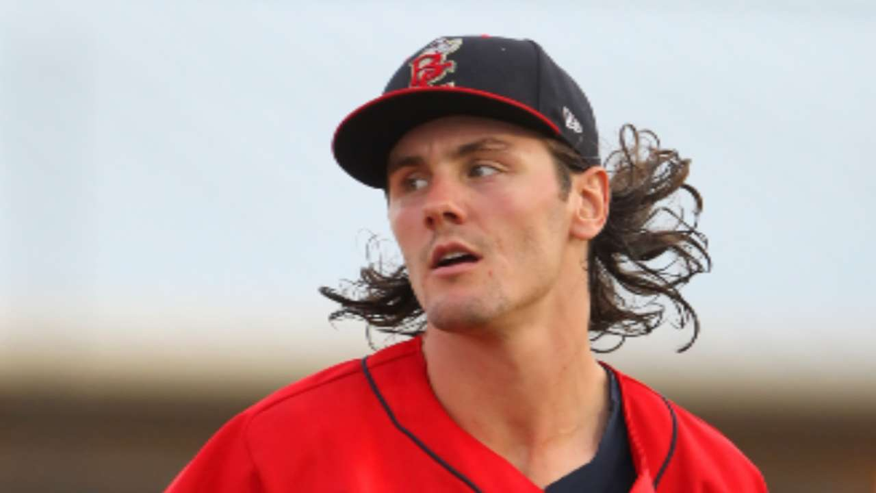 Brewers move Coulter up to Double-A