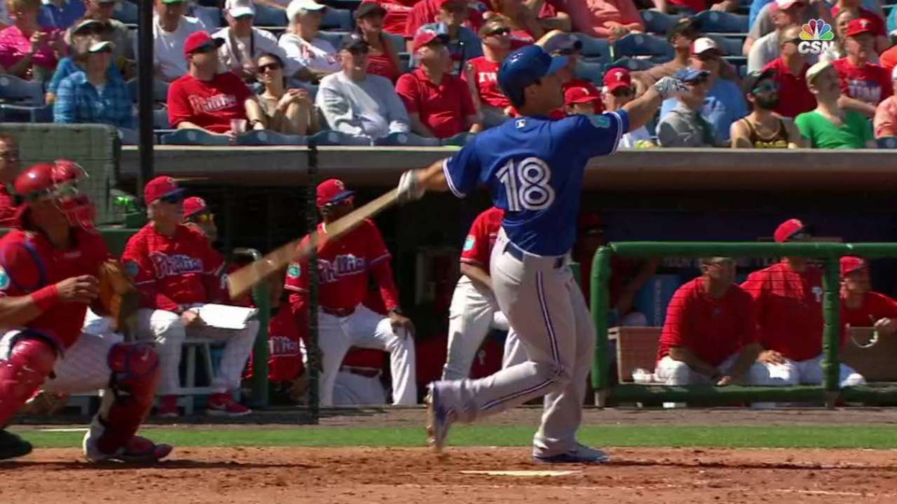 Barney's second two-run double