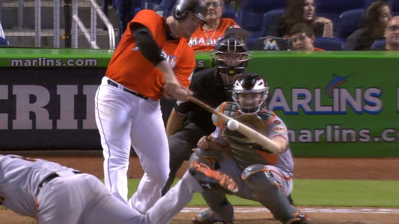 Bour to hit fifth, protecting Stanton