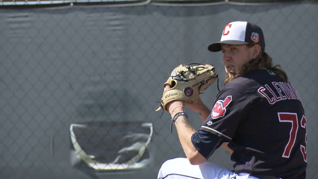 Clevinger, Naquin on 2016 goals