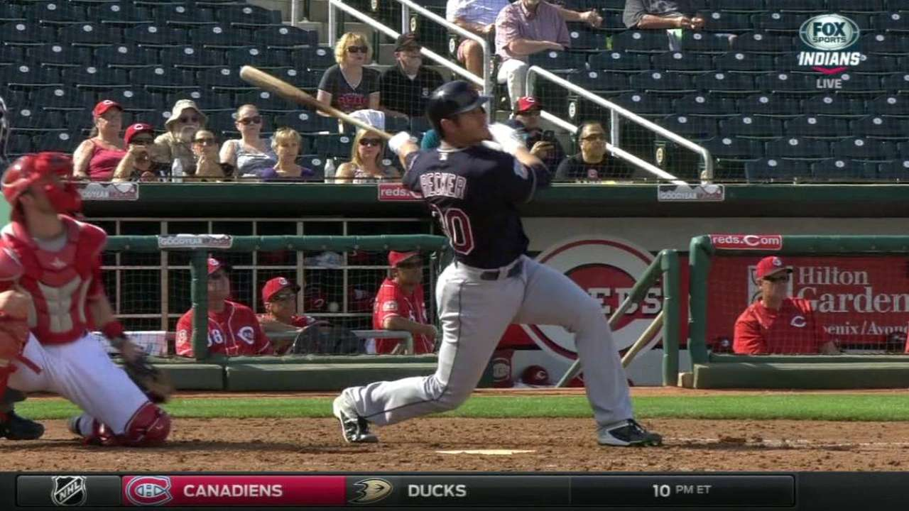 Braves acquire catcher Recker from Indians