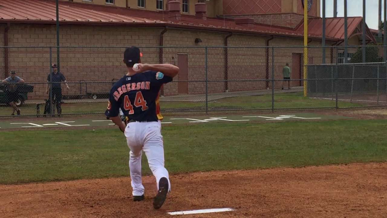 Gregerson tests oblique in Minors game