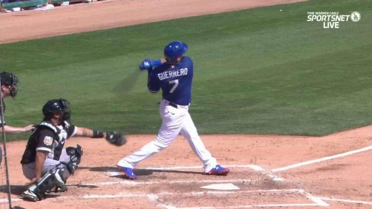 Guerrero's solo home run