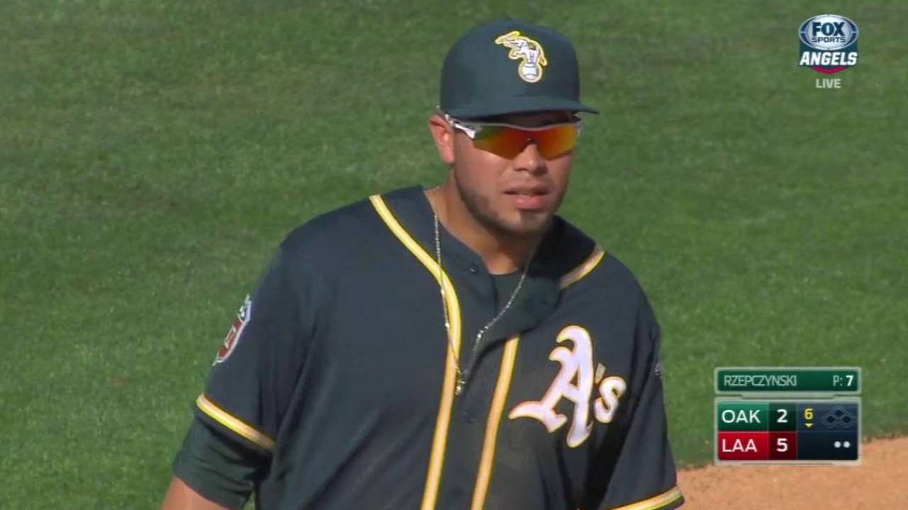 Nunez likely to see more time as DH with A's