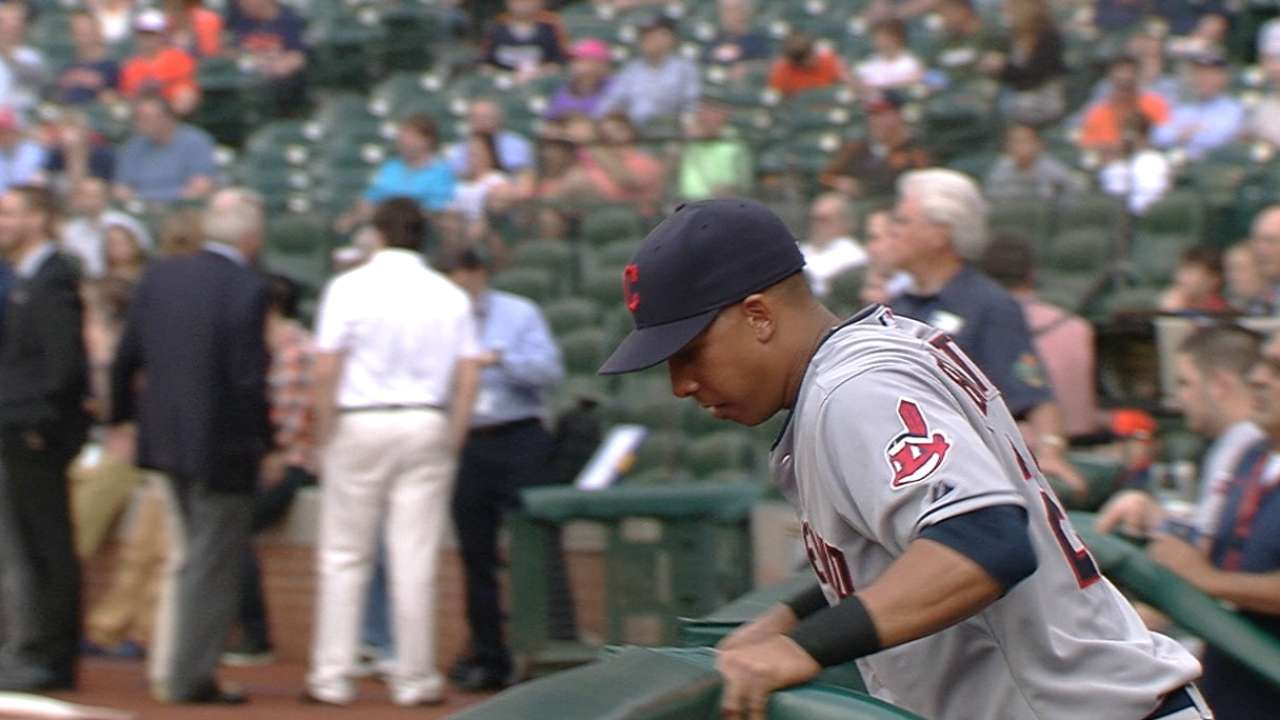 Tribe Opening Day first-timers reflect on special day