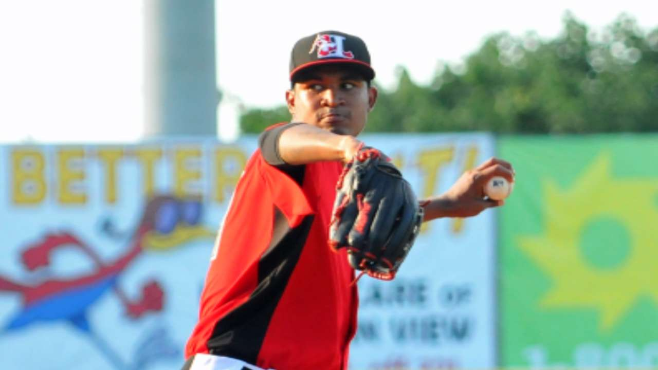 Prospect Mendez among Rangers' callups