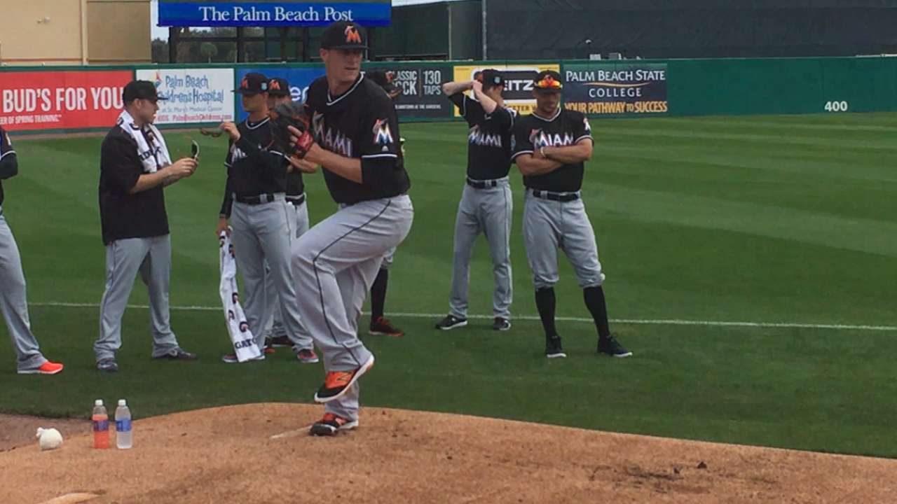 Koehler tests pitches, deflects stats in debut