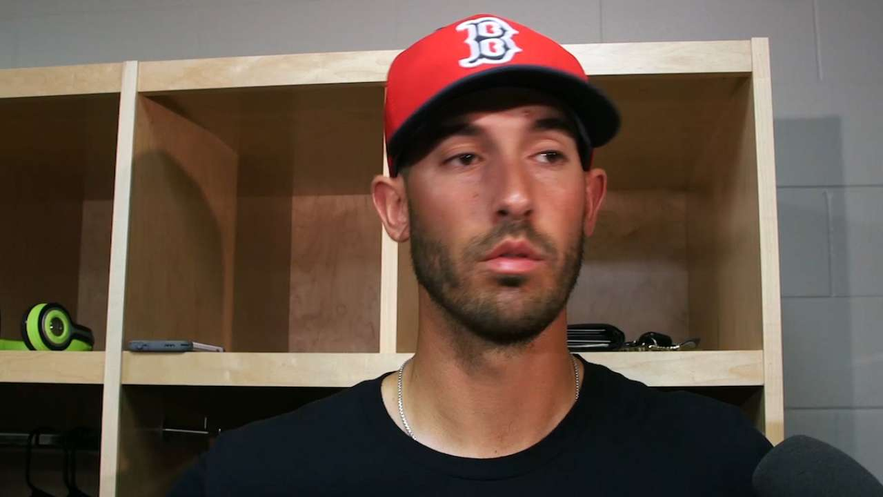 Porcello works on fastball in spring debut