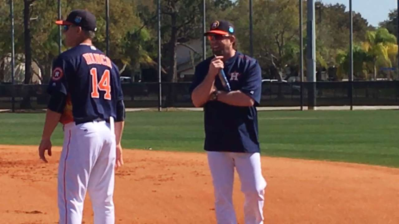 Bagwell taking in first-base competition