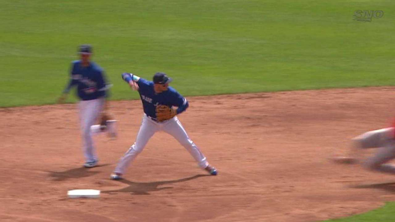 Happ induces double play