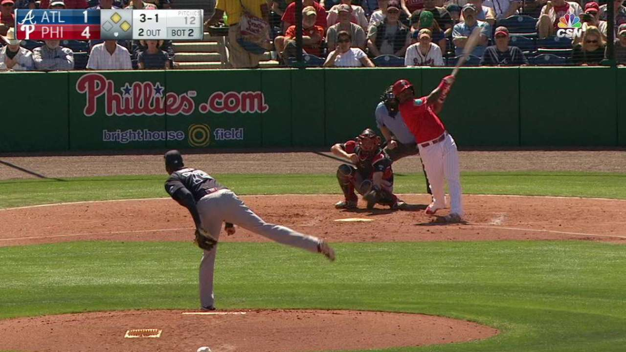 Confident Franco swinging hot bat early in spring