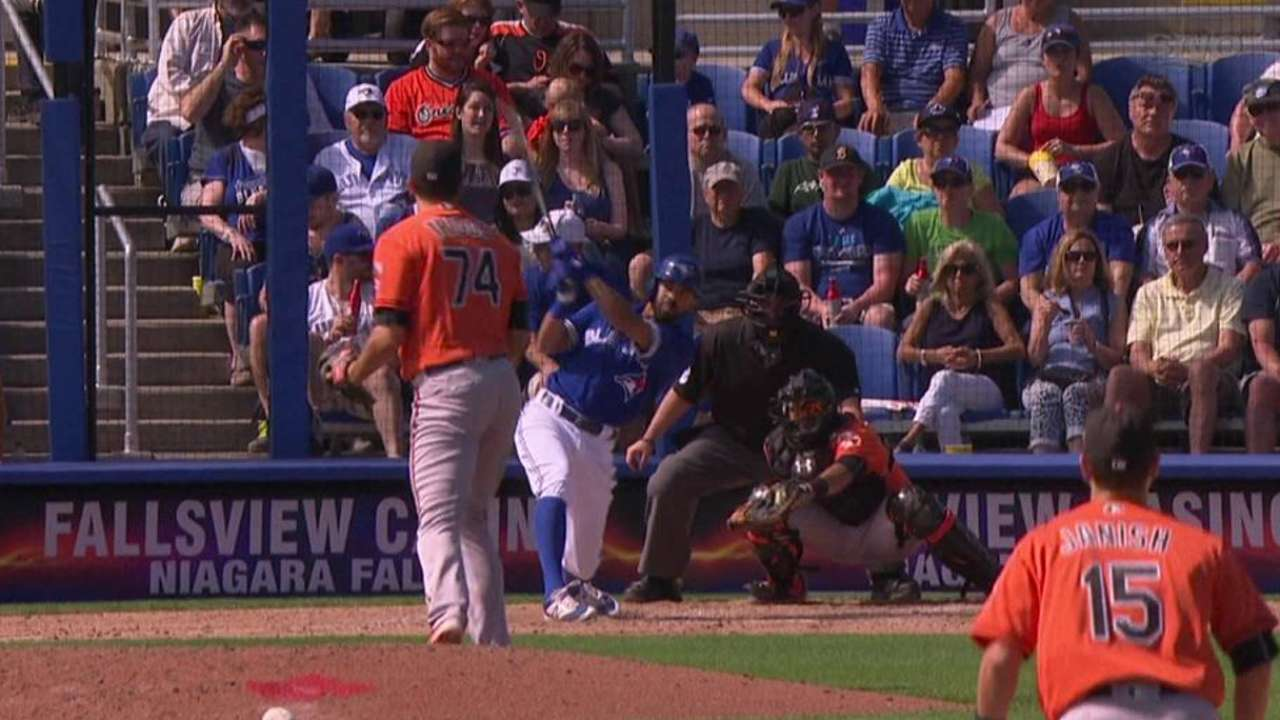 Pompey's solo home run