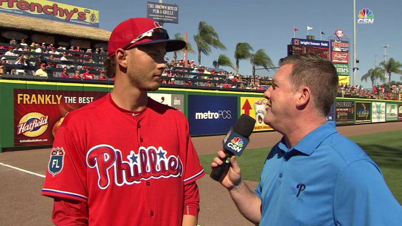 Phils hope Goeddel can step up in Altherr's absence