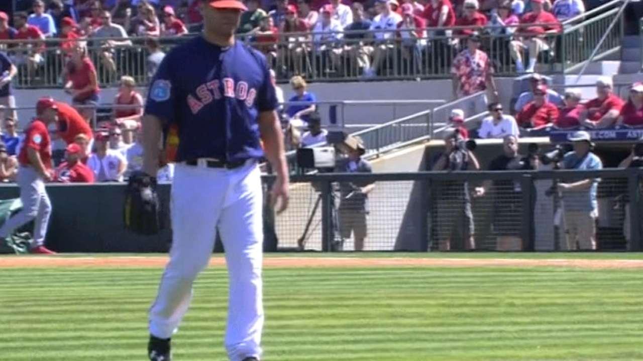 Wandy's return to Astros
