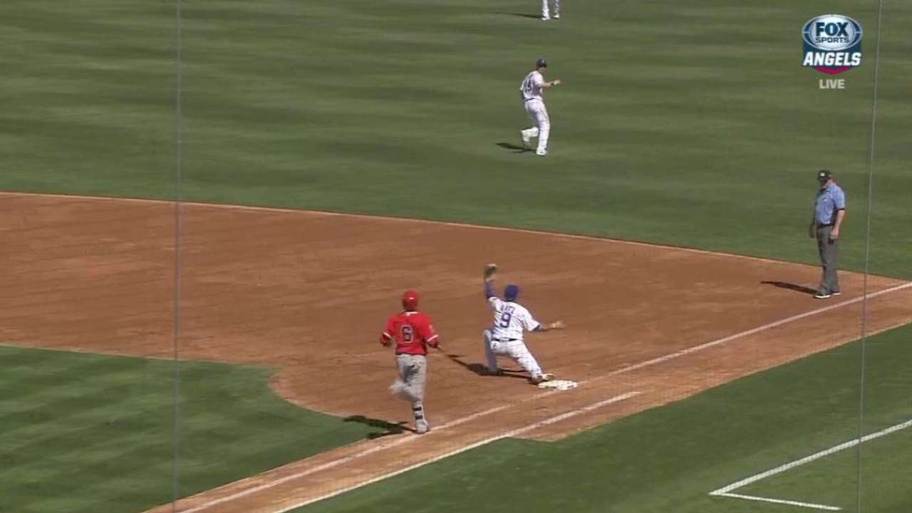 First base goes better than CF for Baez