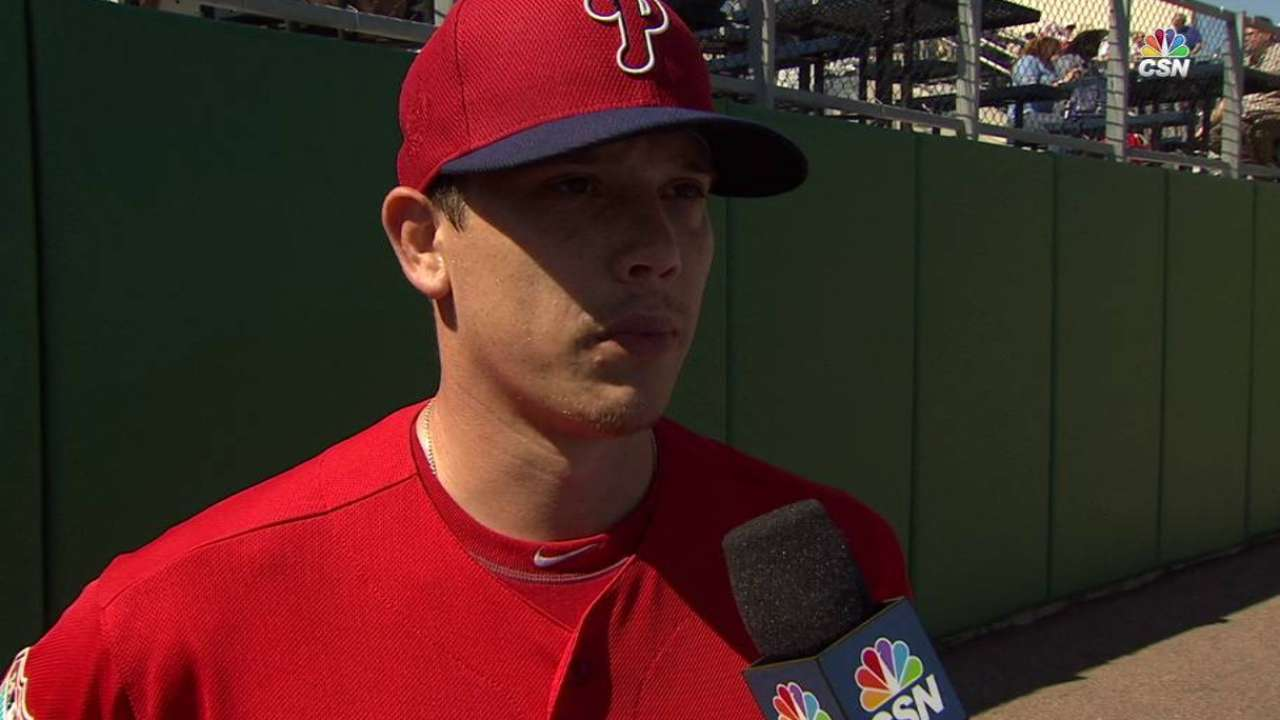 Hellickson makes first bid for Opening Day assignment