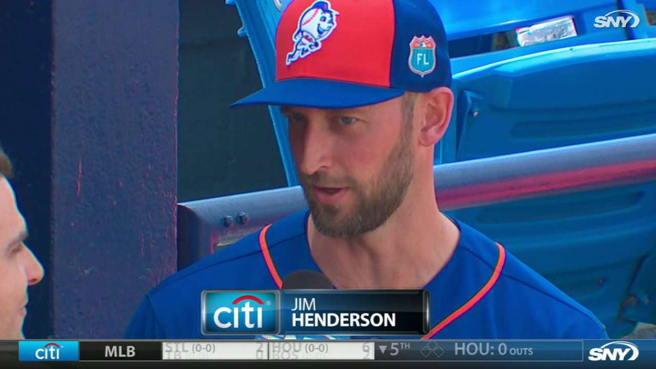 Henderson on comeback trail with Mets