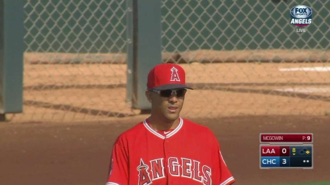 Ortega looking to get back on track with Angels