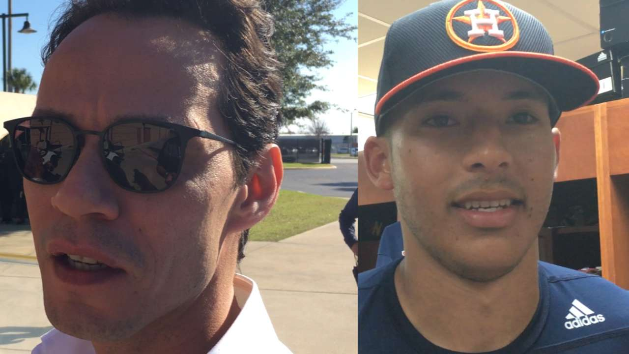 Marc Anthony to write new Correa walk-up song?