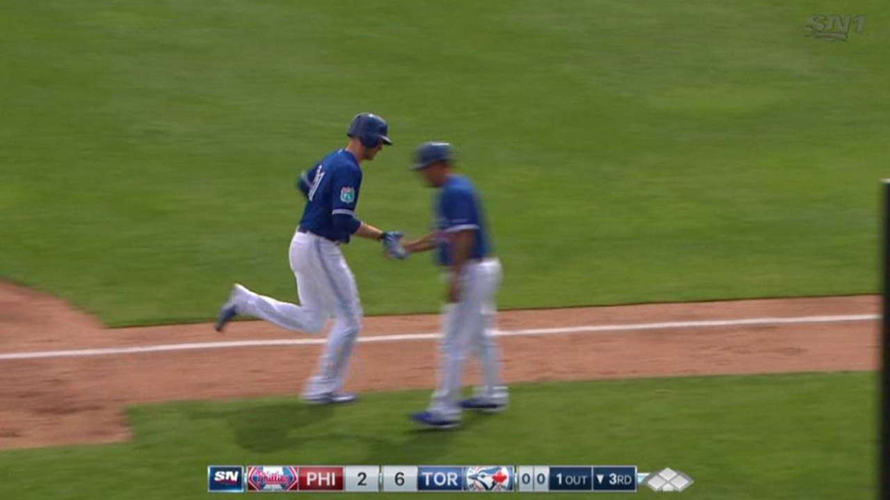 Saunders's second homer