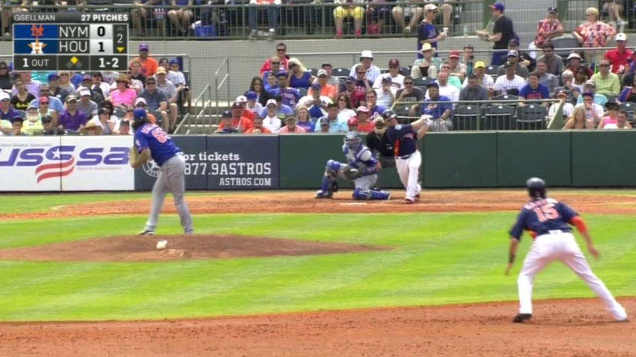 Collins impressed with Gsellman's solid start