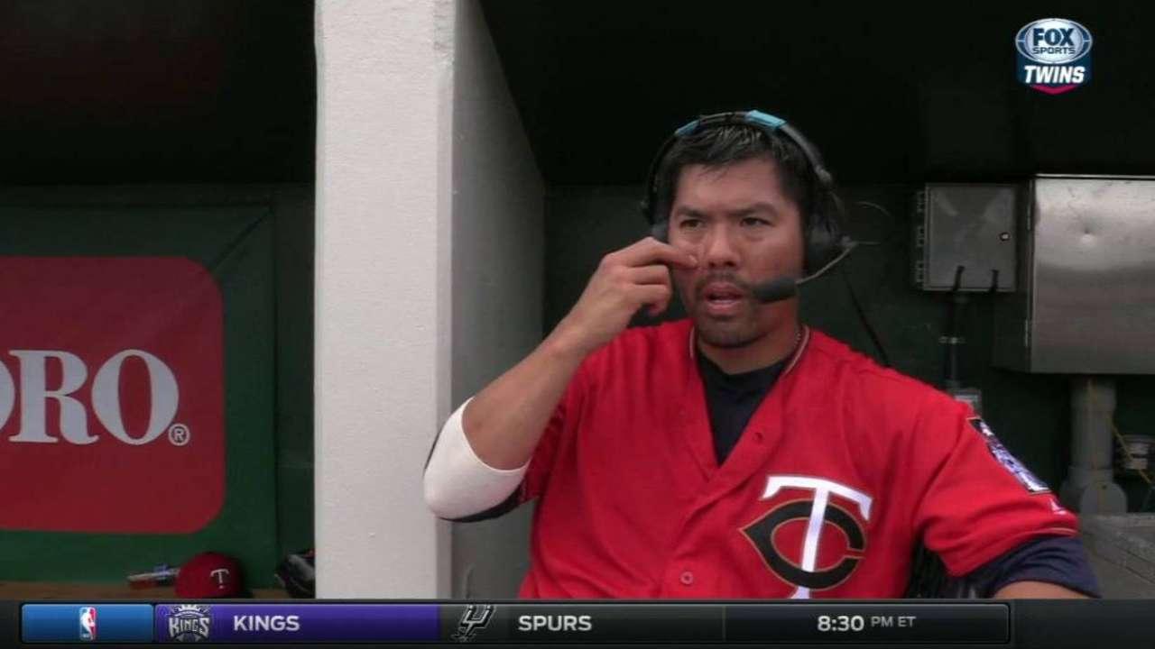 Suzuki on Twins' pitchers