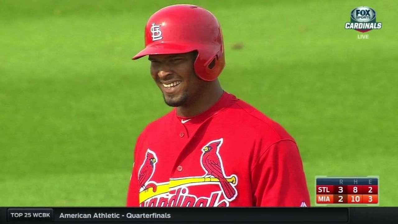 Prospect Garcia stars as Cardinals sink Marlins