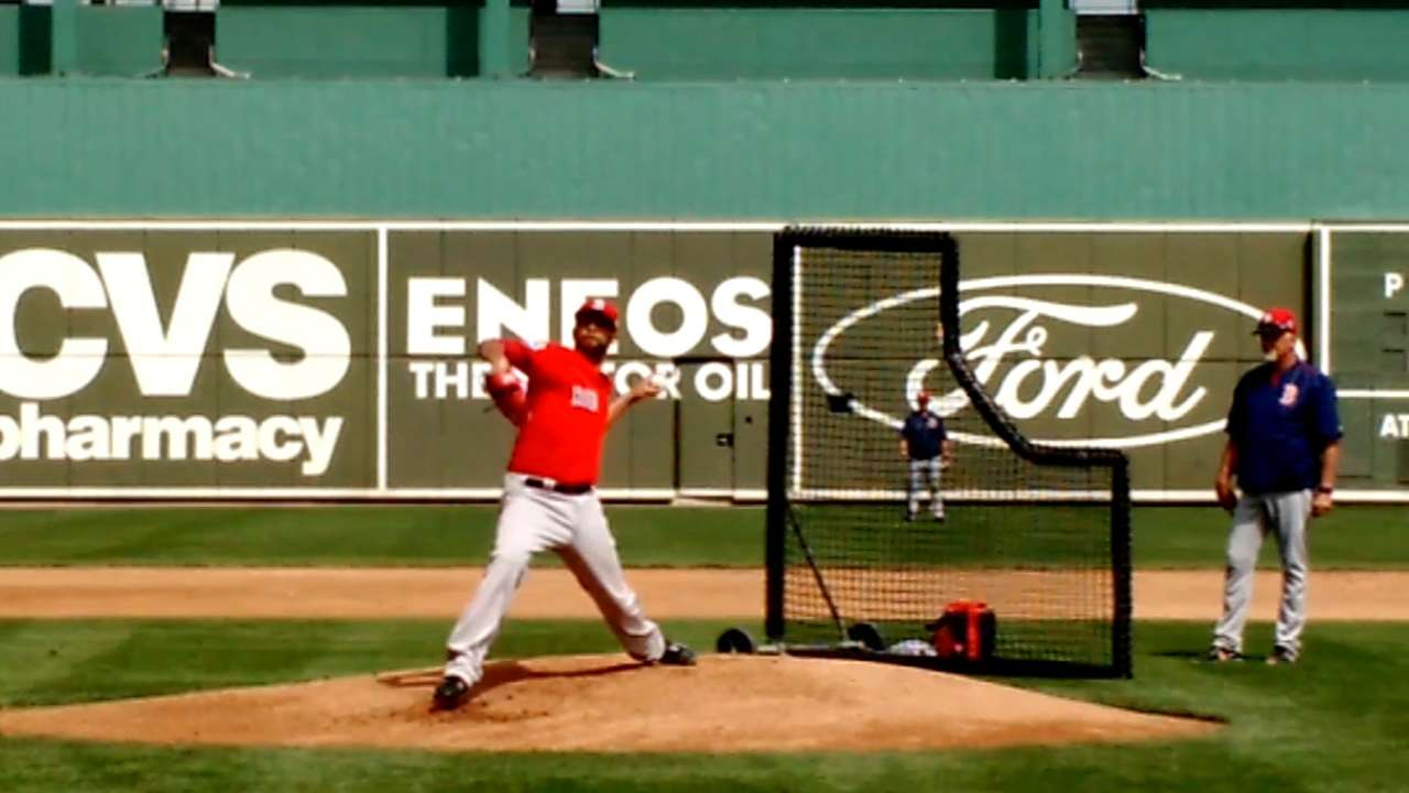 Price dialed in during simulated game