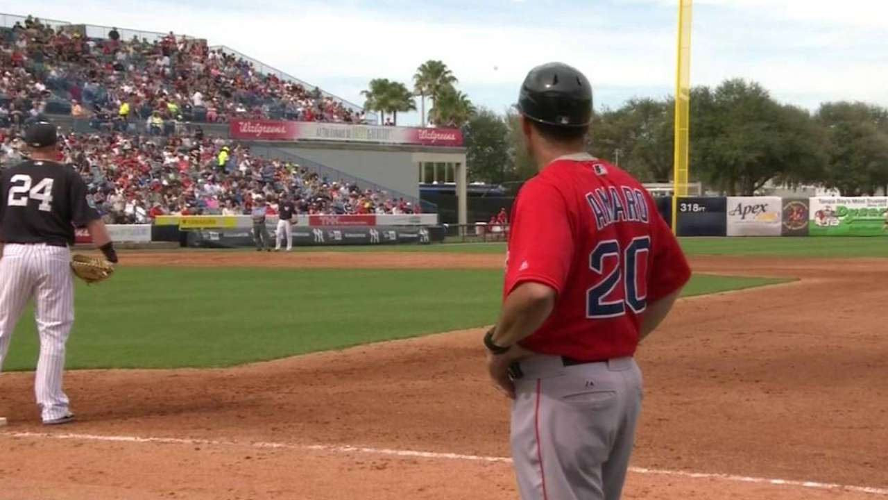 Sox broadcast on Amaro