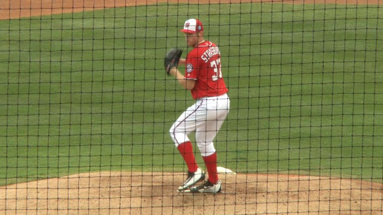 Stras, Zimmermann debut as Nats top Tigers