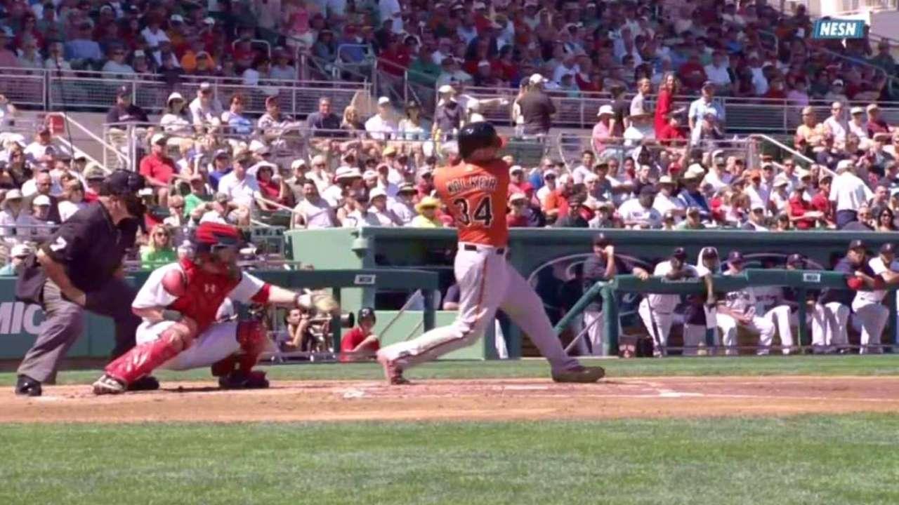 Walker's two-run double