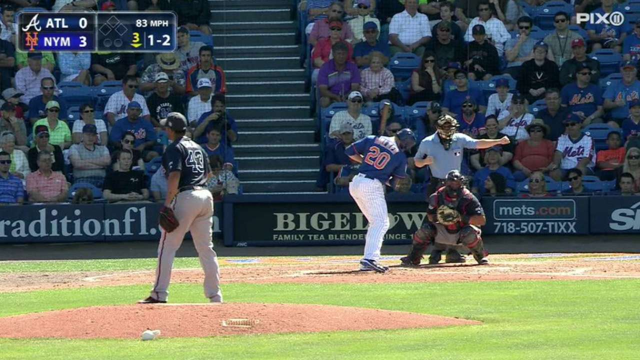 Chacin's first strikeout