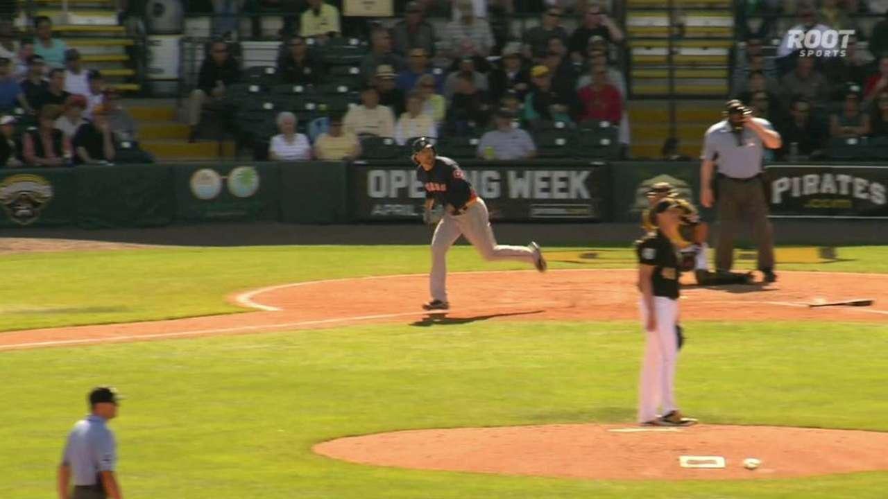 Marisnick's two-run homer