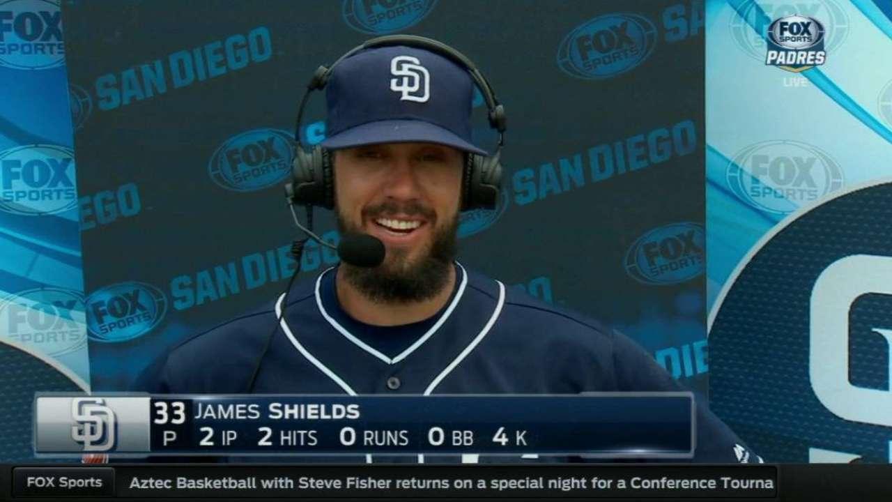 Shields on his start