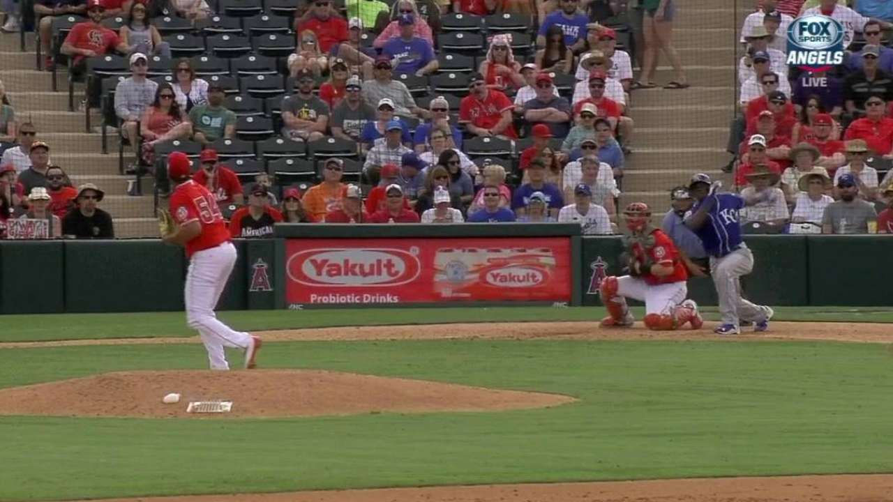 Calixte's RBI triple