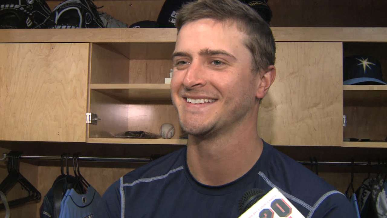 Hitch in mechanics leads to trouble for Odorizzi
