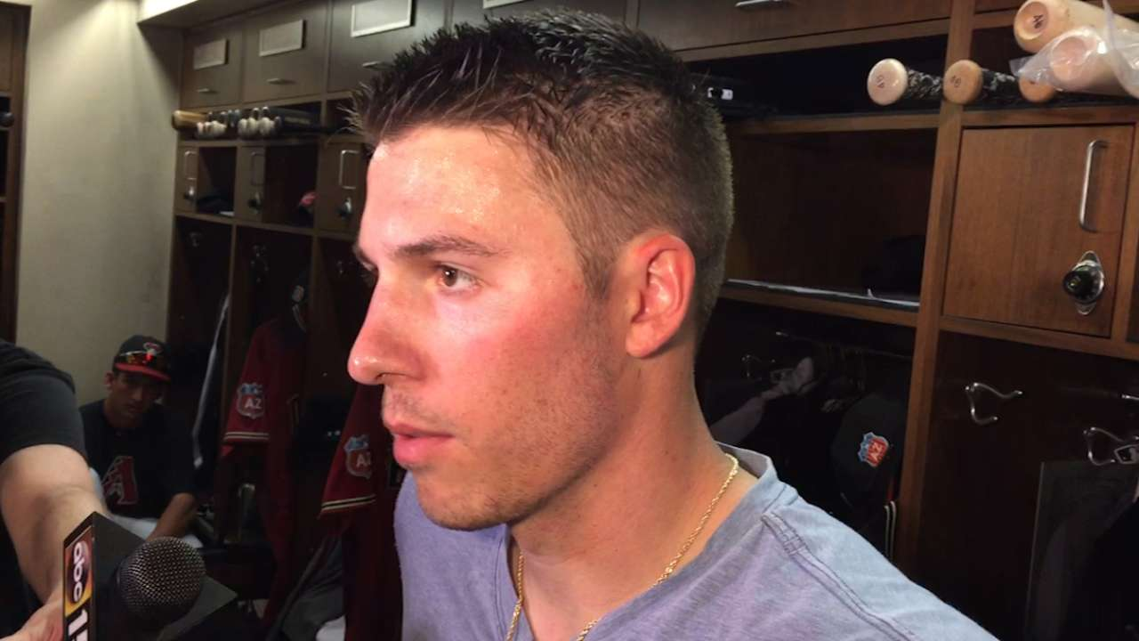 Corbin putting early focus on refining changeup