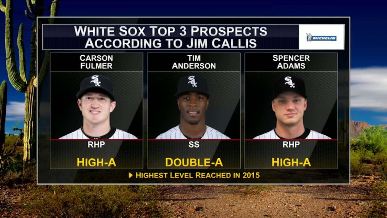 After parting with prospects, White Sox rebuilding farm