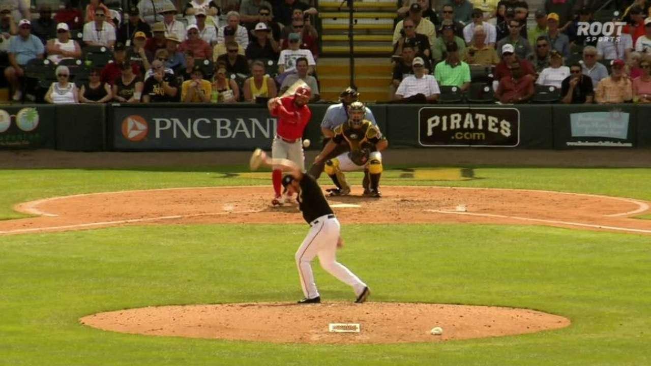 Phillies break through late, blank Bucs
