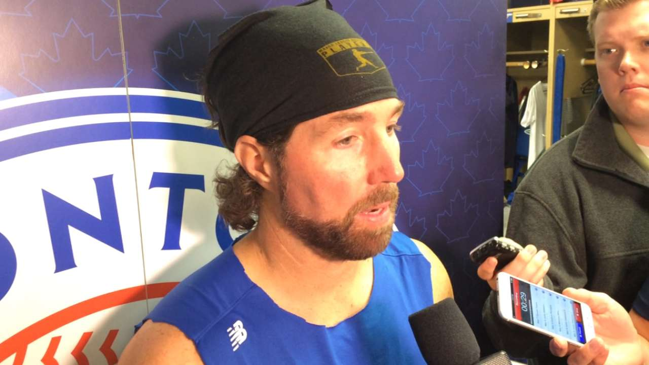 Dickey on his efficient start