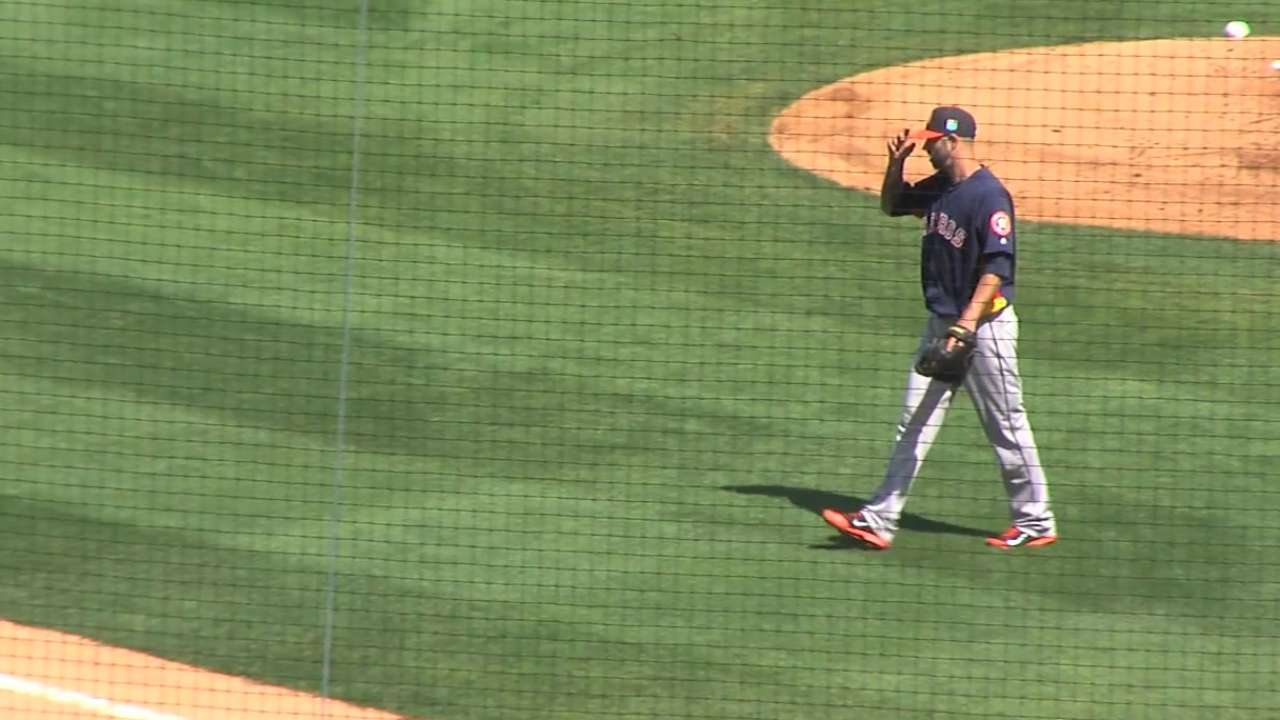 Astros on 1-0 win over Yanks