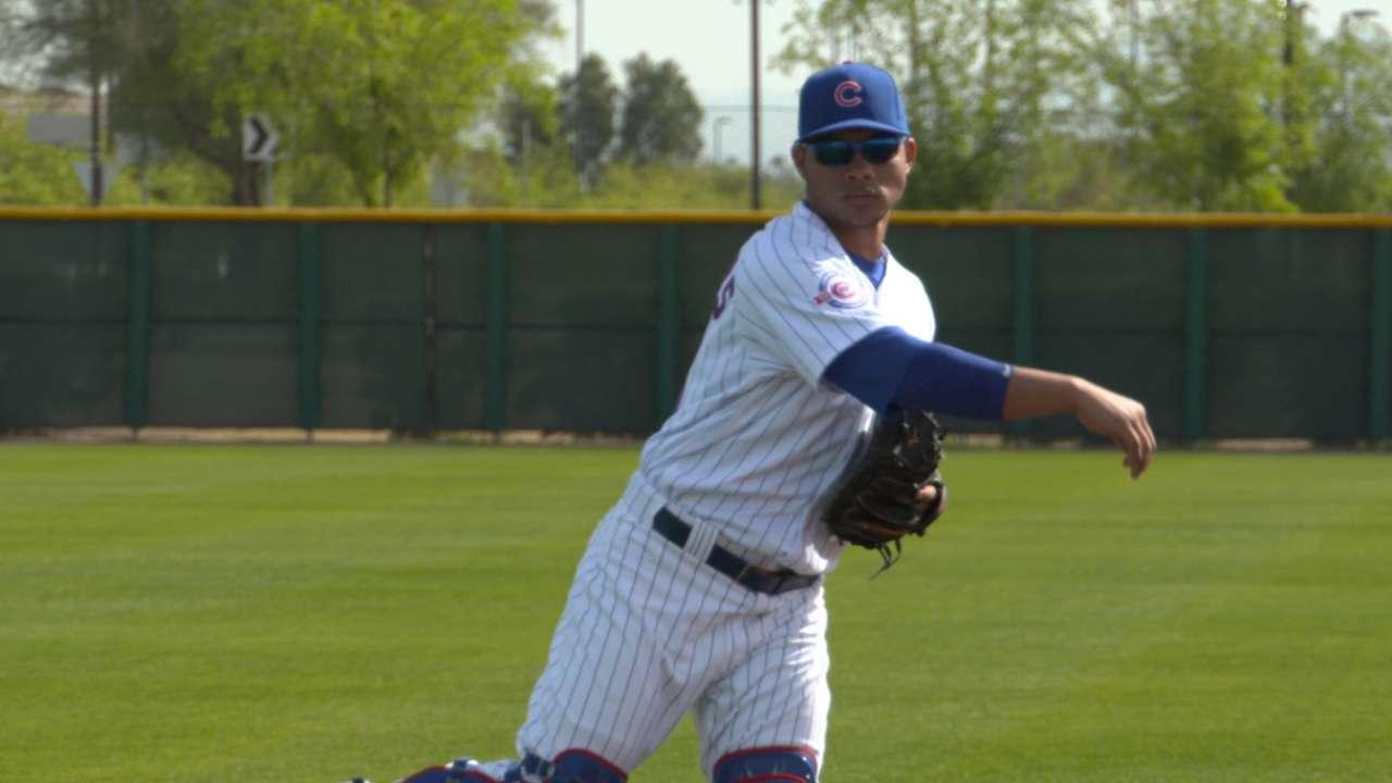 Contreras looking to improve