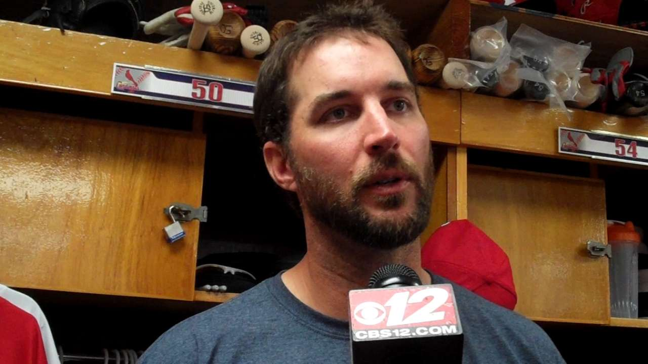 Wainwright happy to be back in familiar role