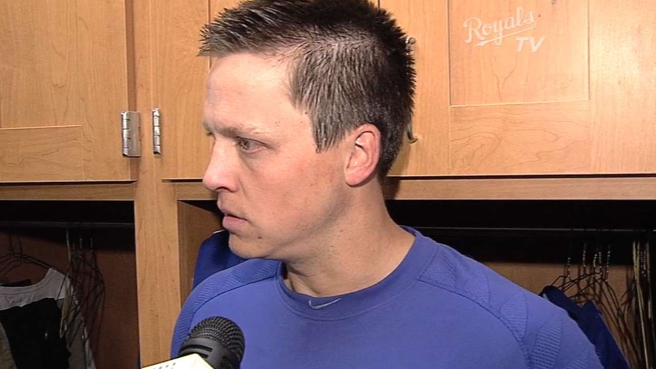 Royals on win over Cubs