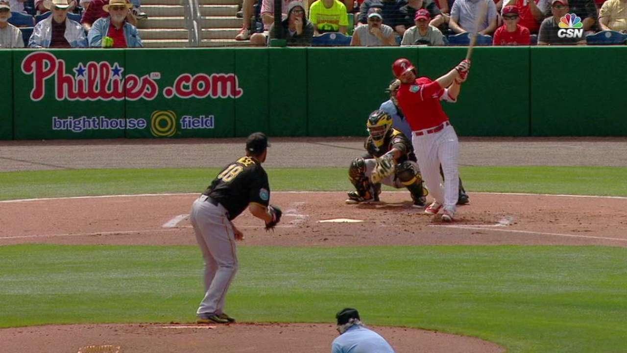 Ruf's two-run shot